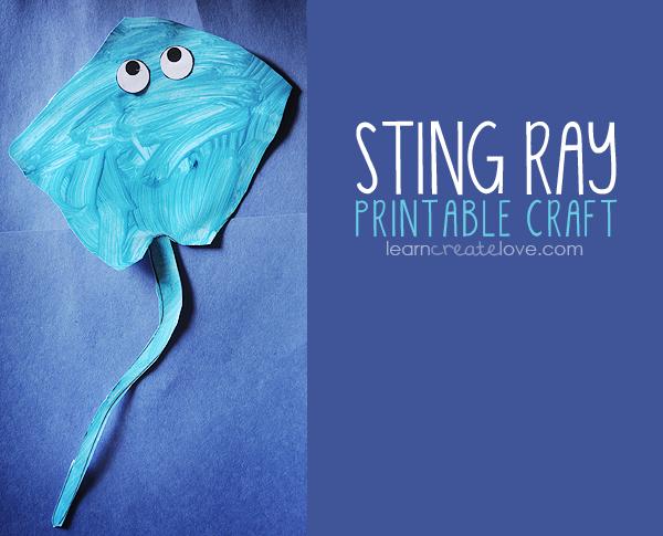 Stingray Craft Ideas